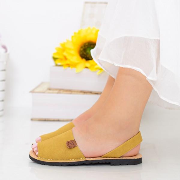 Sandale Dama Y603 Yellow Mei