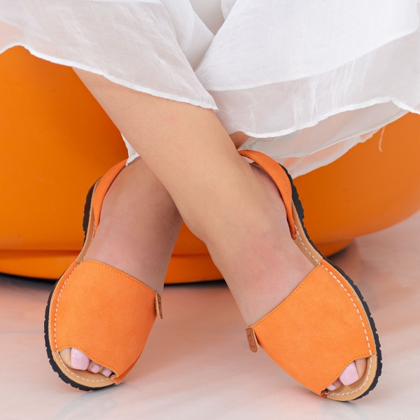 Sandale Dama Y603 Orange Mei