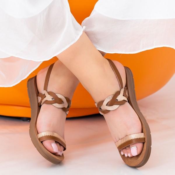 Sandale Dama CS36 Brown Mei