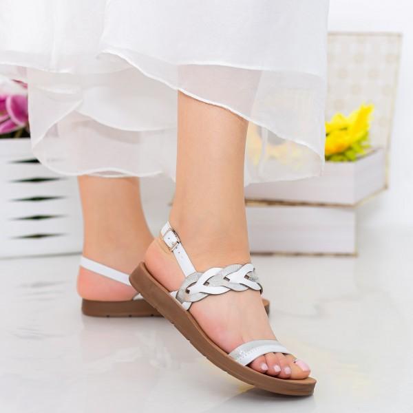 Sandale Dama CS36 White Mei