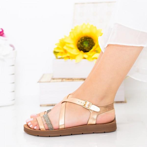 Sandale Dama CS38 Champagne Mei