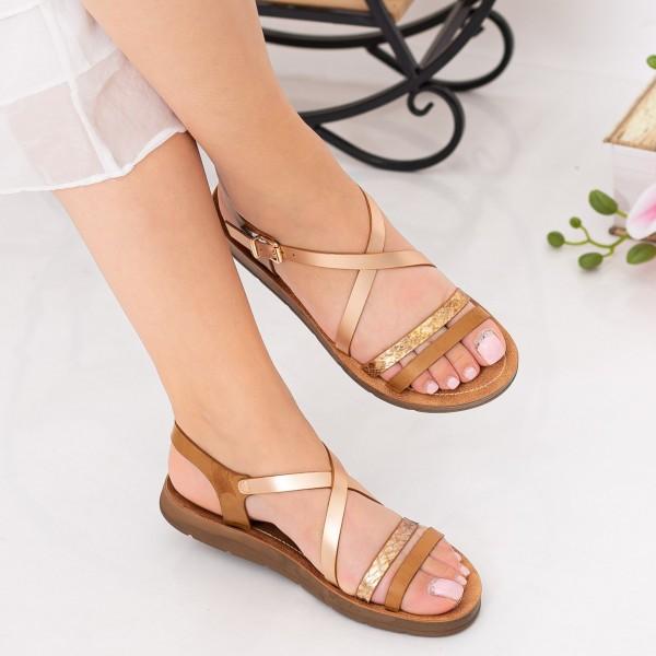 Sandale Dama WS101 Brown Mei