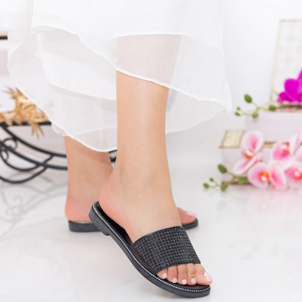 Papuci Dama TG13 Black Mei