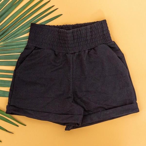 Pantaloni Scurti Dama 4044 Negru KTN