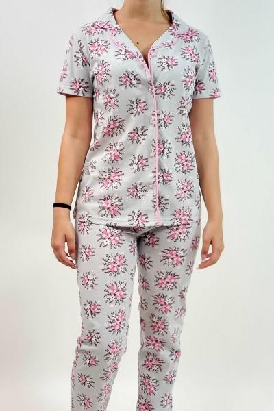 Pijama Dama 664 Gri Mei