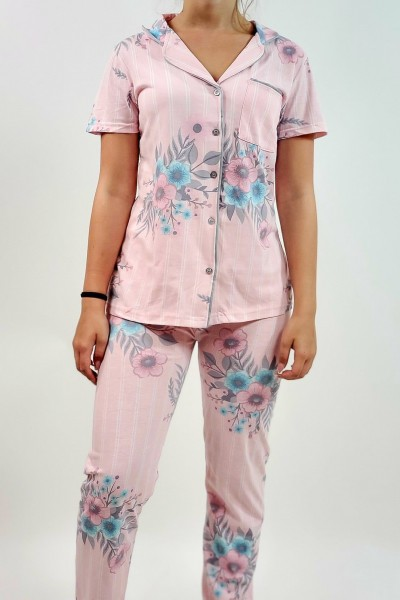 Pijama Dama 418 Roz Mei