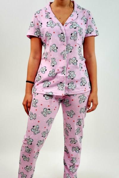 Pijama Dama 7796 Roz Mei