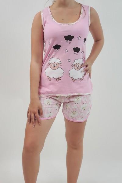 Pijama Dama 7786 Roz Mei
