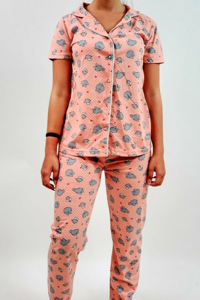 Pijama Dama 687 Corai Mei