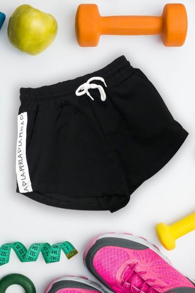 Pantaloni Scurti Dama 9050 Negru Mei