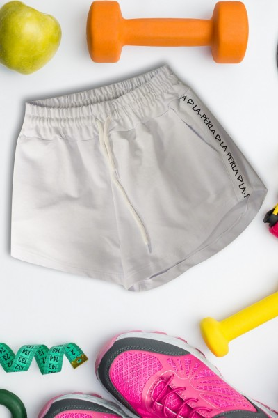 Pantaloni Scurti Dama 9050 Alb Mei