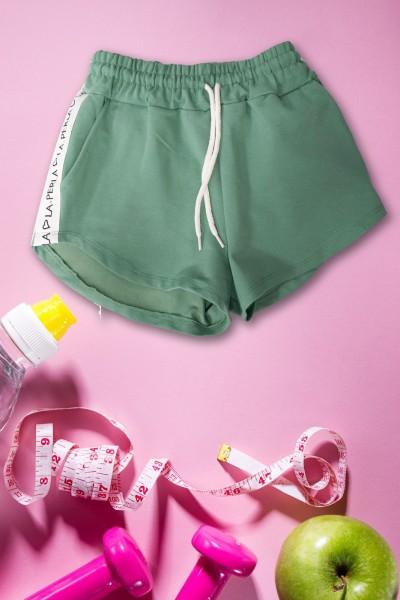 Pantaloni Scurti Dama 9050 Verde Mei