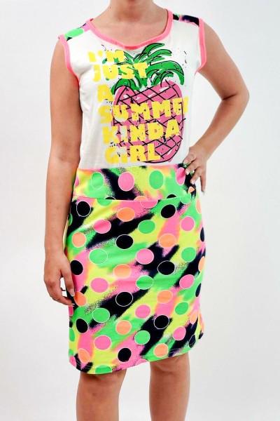 Rochie Dama 8399 Multicolor Mei