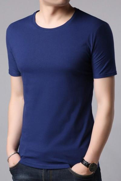 Tricou Barbati 111 Albastru Fashion