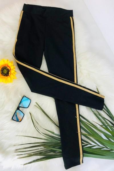 Colanti Dama 1060 Negru-Galben Fashion