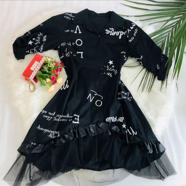 Rochie Dama HR042 Negru Fashion