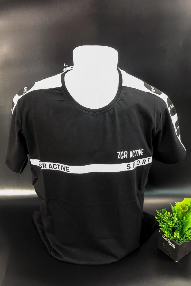 Tricou Barbati 3009 Negru Fashion