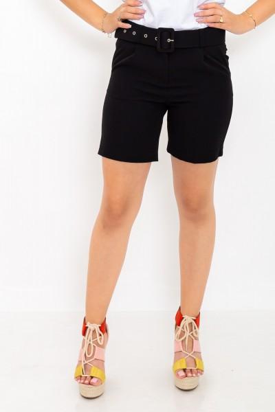 Pantaloni Scurti dama P093 Negru Adrom