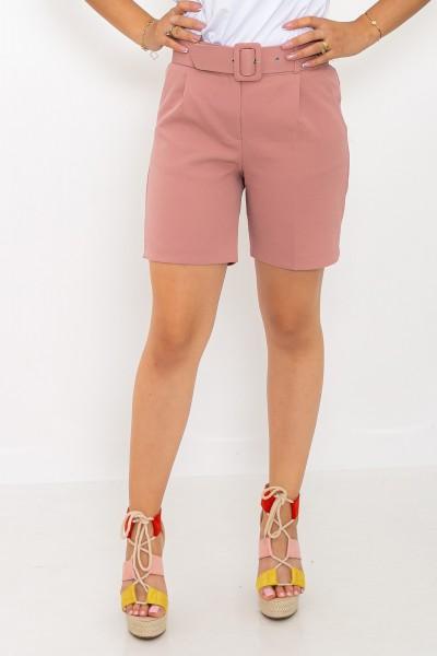 Pantaloni Scurti dama P093 Roz Adrom