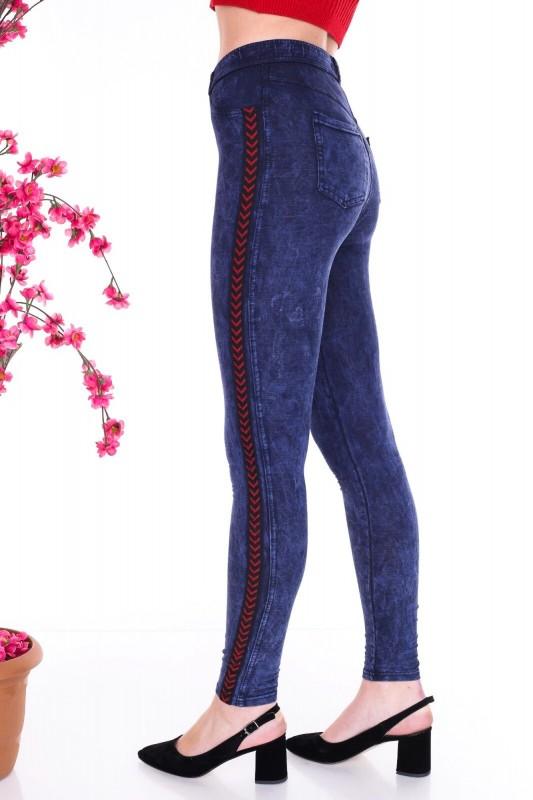 Colanti Dama HC05 Albastru Fashion
