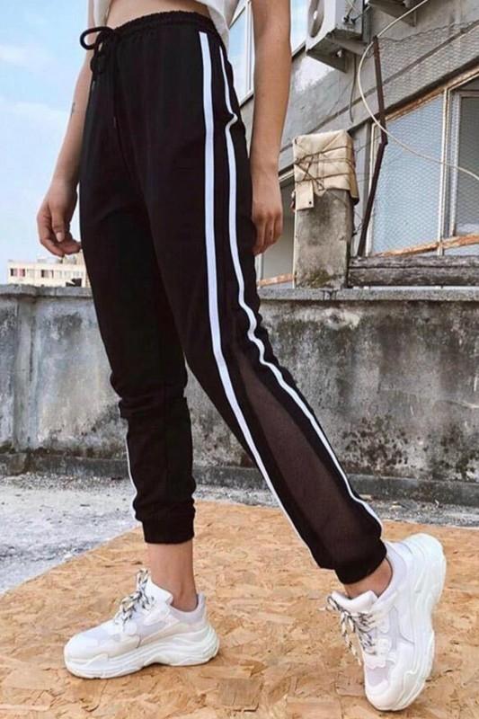Pantaloni Dama 7072 Negru Fashion