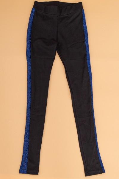 Colanti Dama 0041 Negru-Albastru Fashion