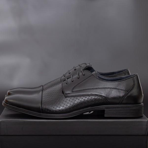 Pantofi Barbati 2207-1 Black Mei