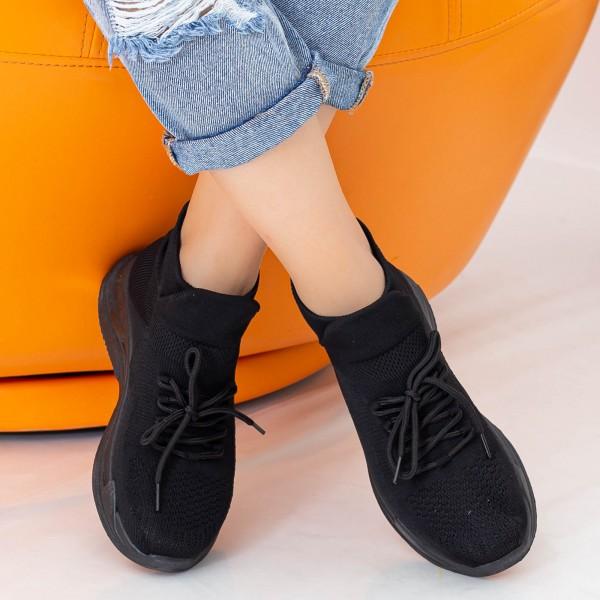 Pantofi Sport Dama WS166 Black Mei