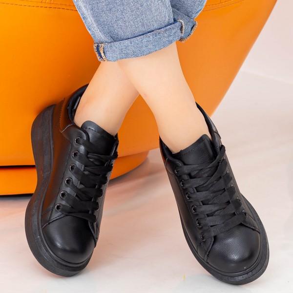 Pantofi Sport Dama YKQ136 Black Mei