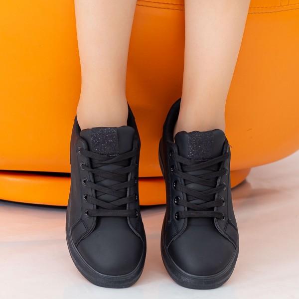 Pantofi Sport Dama YKQ197 All Black Mei