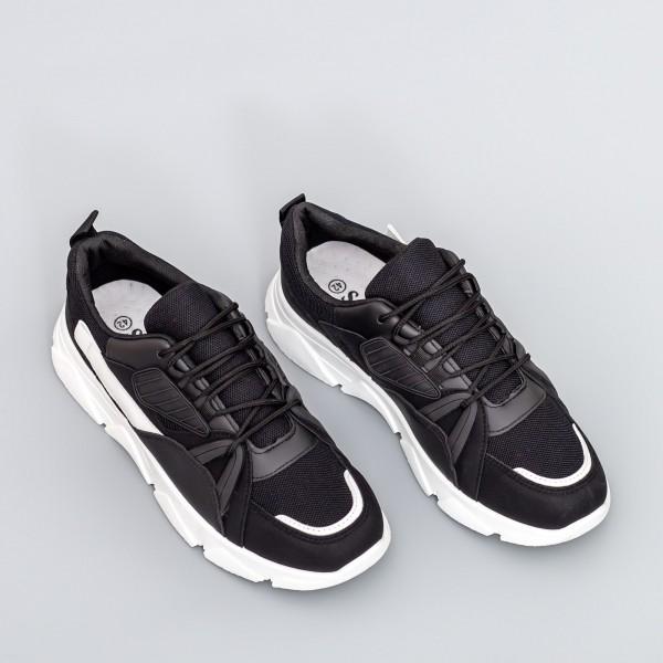 Pantofi Sport Barbati D768 Negru Se7en