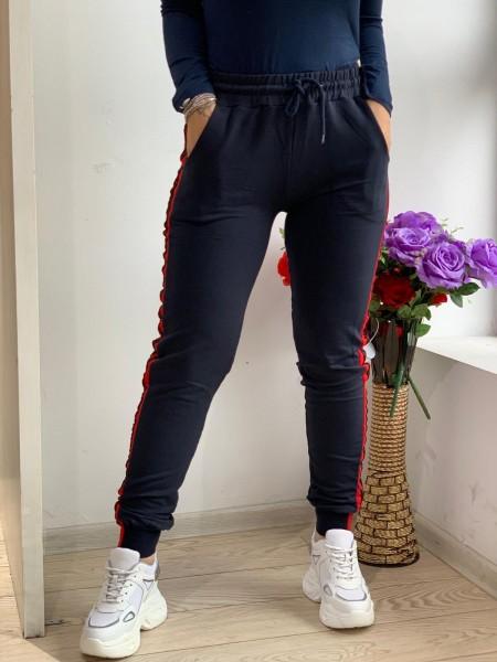 Pantaloni Dama HP1802 Albastru inchis Fashion