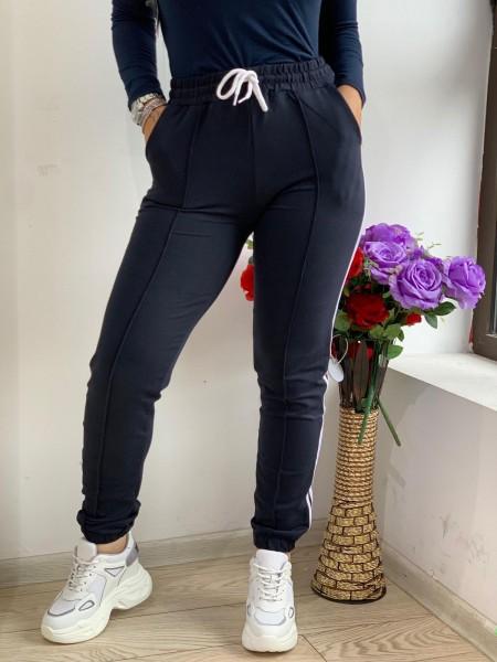 Pantaloni Dama HP1803 Albastru inchis Fashion