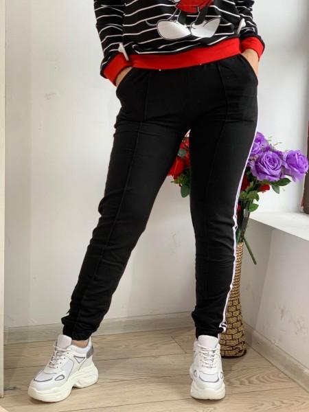 Pantaloni Dama HP1803 Negru Fashion
