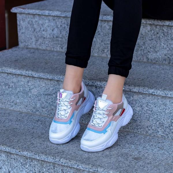 Pantofi Sport Dama X2881 Alb Mei