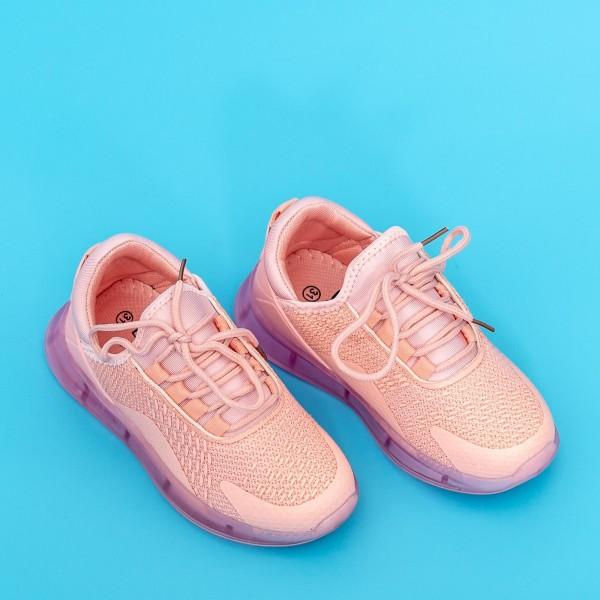 Pantofi Sport Fete 5058A Roz Mei