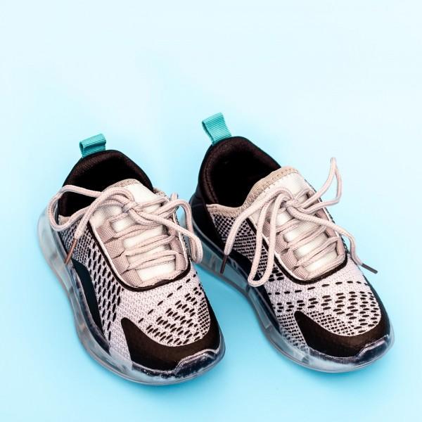 Pantofi Sport Baieti 5058B Gri Mei