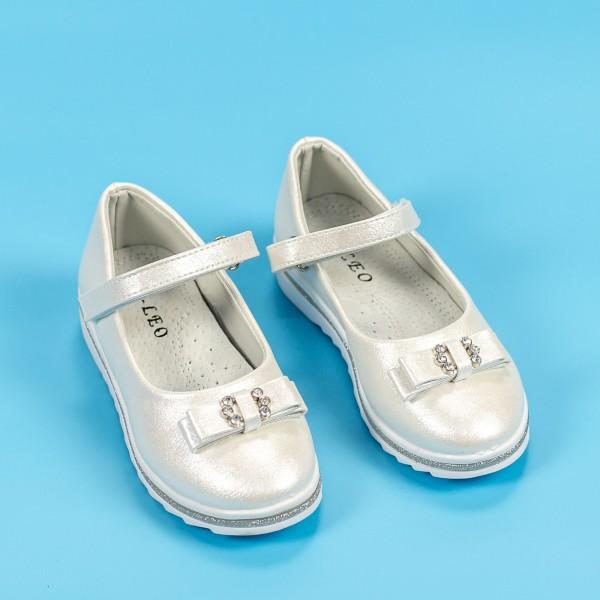 Sandale Fete 608-1 Alb Mei