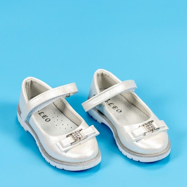 Sandale Fete 701 Alb Mei