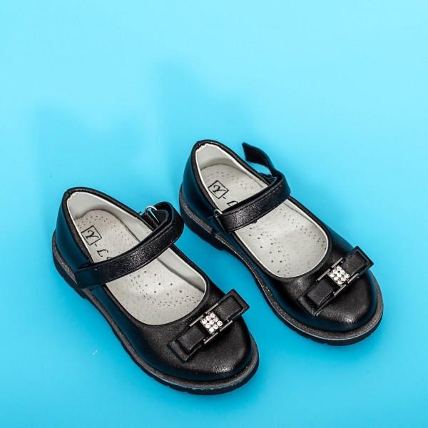 Sandale Fete 701 Negru Mei