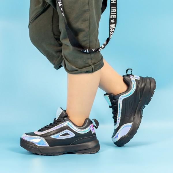 Pantofi Sport Baieti C5048 Negru Mei