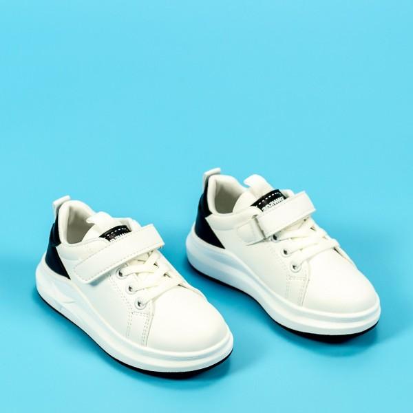 Pantofi Sport Baieti GC25 Alb Mei