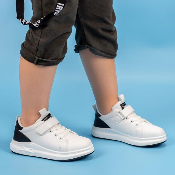 Pantofi Sport Baieti GC26 Alb Mei