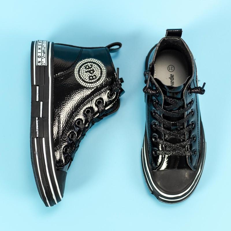 Pantofi Sport Fete GQ191 Negru Mei