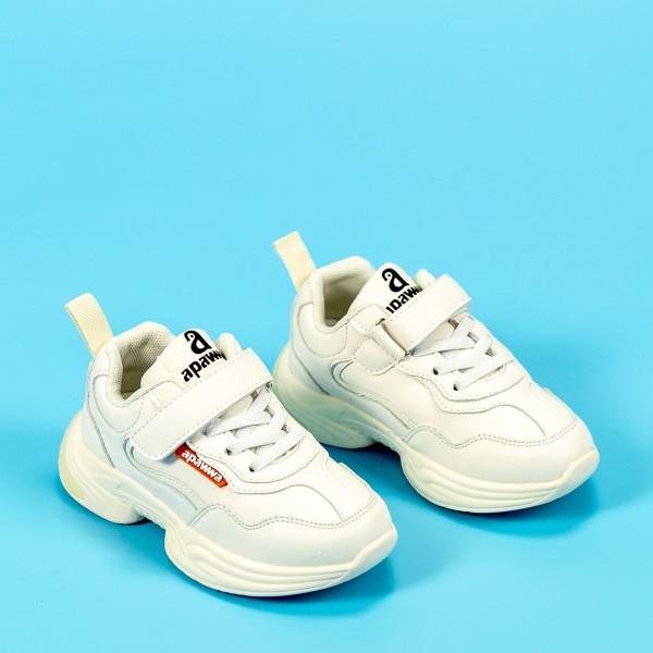 Pantofi Sport Baieti MC87 Alb Mei