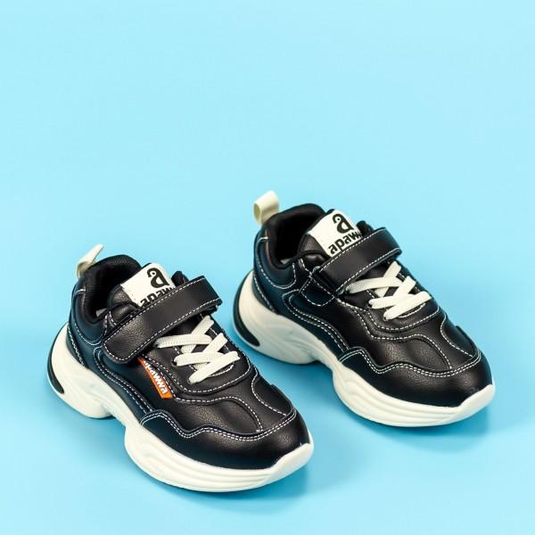 Pantofi Sport Baieti MC87 Negru Mei