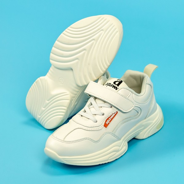 Pantofi Sport Baieti MC88 Alb Mei