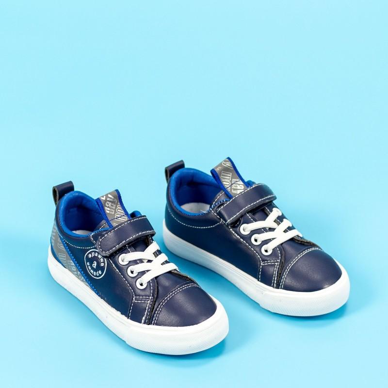 Pantofi Sport Baieti VC48 Albastru inchis Mei