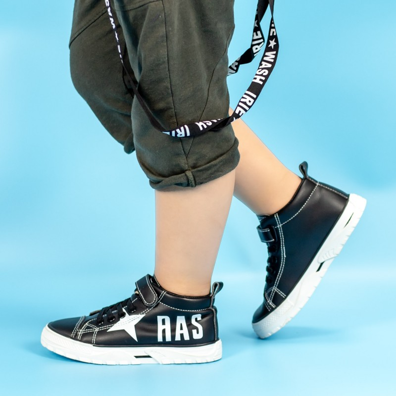 Pantofi Sport Baieti VC53 Negru Mei