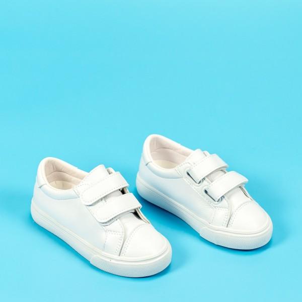 Pantofi Sport Baieti XC236 Alb Mei